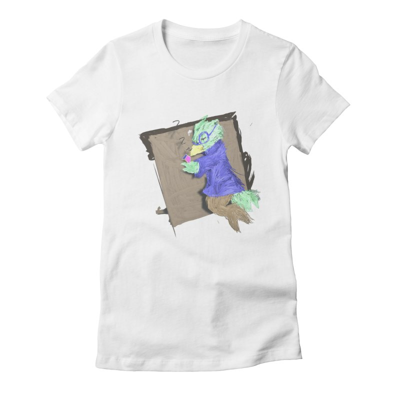 HA - pixEOS Bird Women's Fitted T-Shirt by My pixEOS Artist Shop