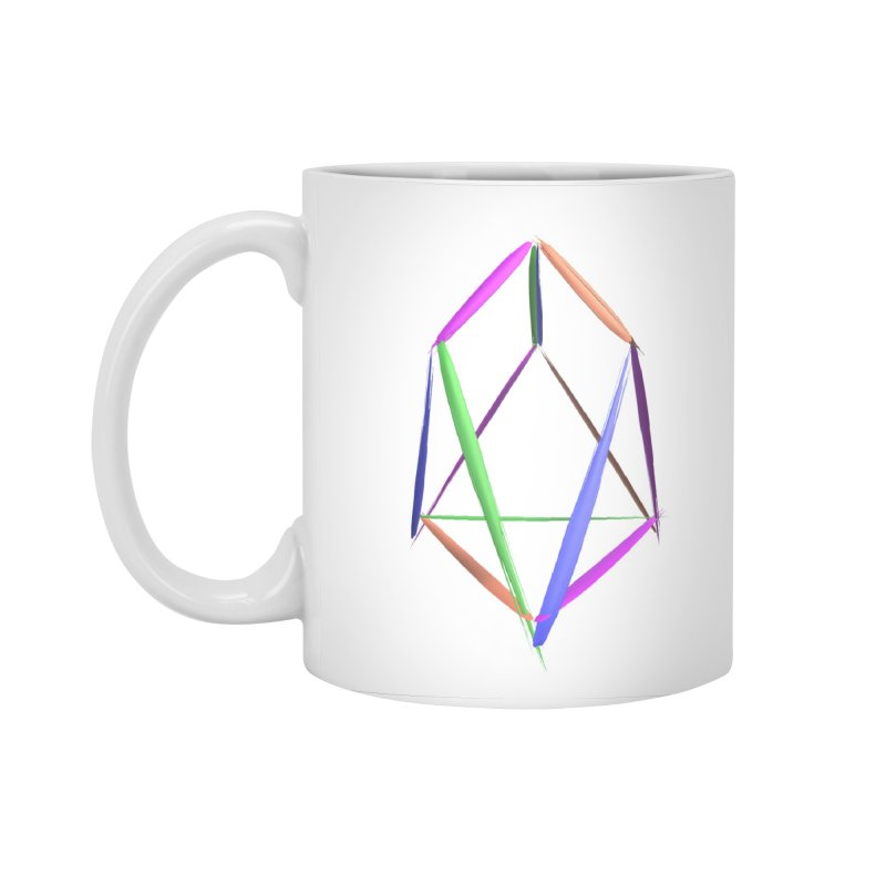 HA - pixEOS Logo2 Accessories Standard Mug by My pixEOS Artist Shop