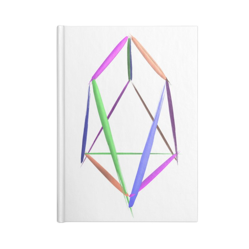 HA - pixEOS Logo2 Accessories Lined Journal Notebook by My pixEOS Artist Shop