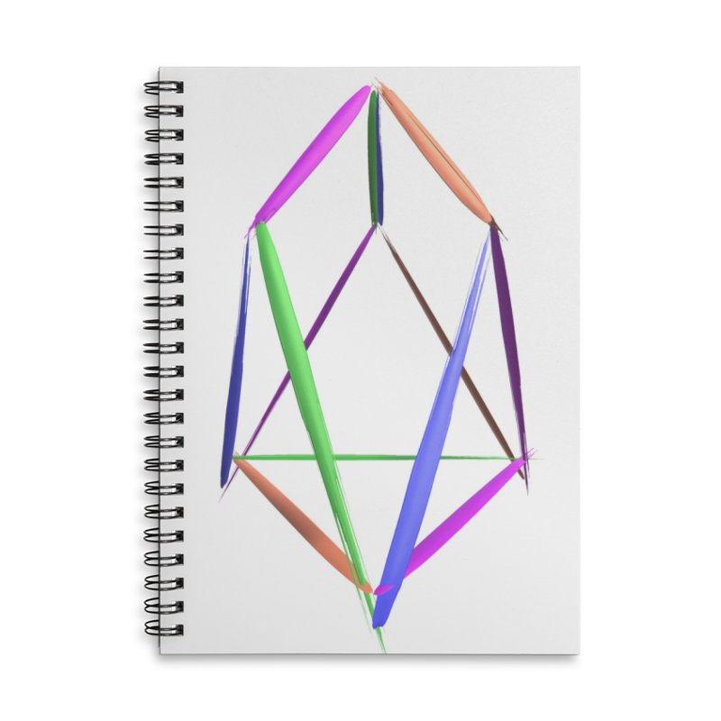 HA - pixEOS Logo2 Accessories Lined Spiral Notebook by My pixEOS Artist Shop