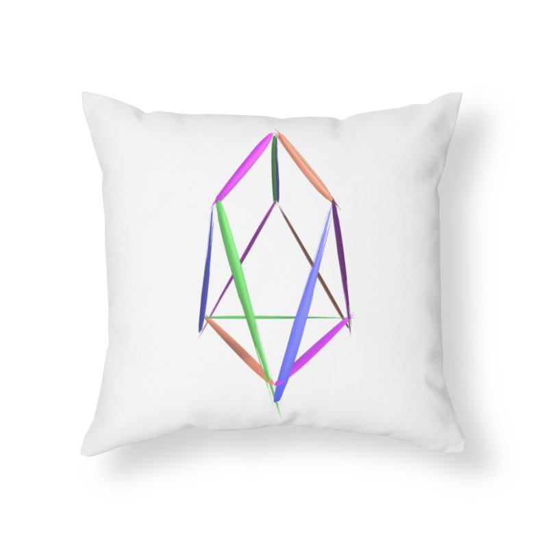 HA - pixEOS Logo2 Home Throw Pillow by My pixEOS Artist Shop