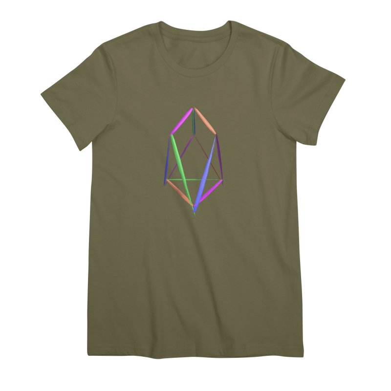 HA - pixEOS Logo2 Women's Premium T-Shirt by My pixEOS Artist Shop