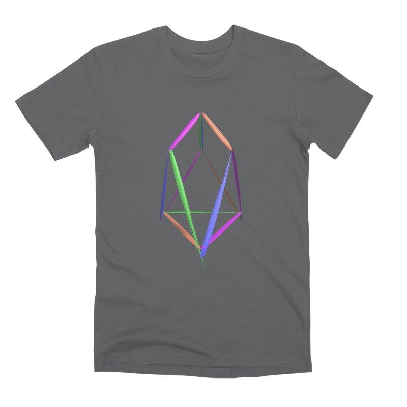 HA - pixEOS Logo2 Men's Premium T-Shirt by My pixEOS Artist Shop