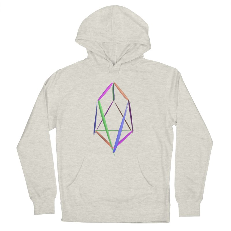 HA - pixEOS Logo2 Men's French Terry Pullover Hoody by My pixEOS Artist Shop