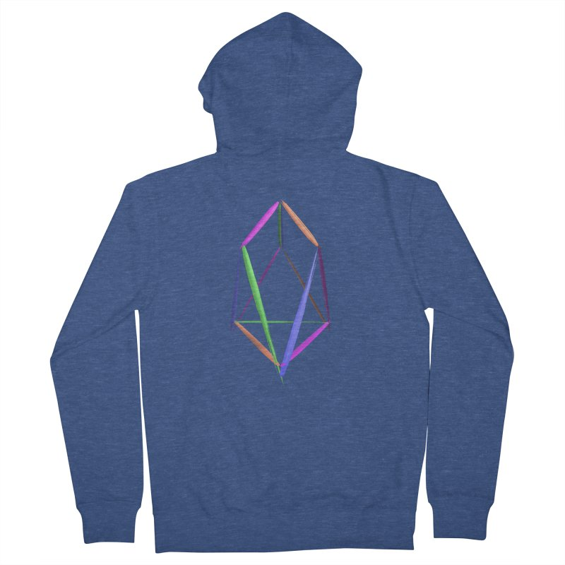 HA - pixEOS Logo2 Women's French Terry Zip-Up Hoody by My pixEOS Artist Shop
