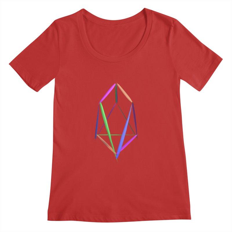 HA - pixEOS Logo2 Women's Regular Scoop Neck by My pixEOS Artist Shop