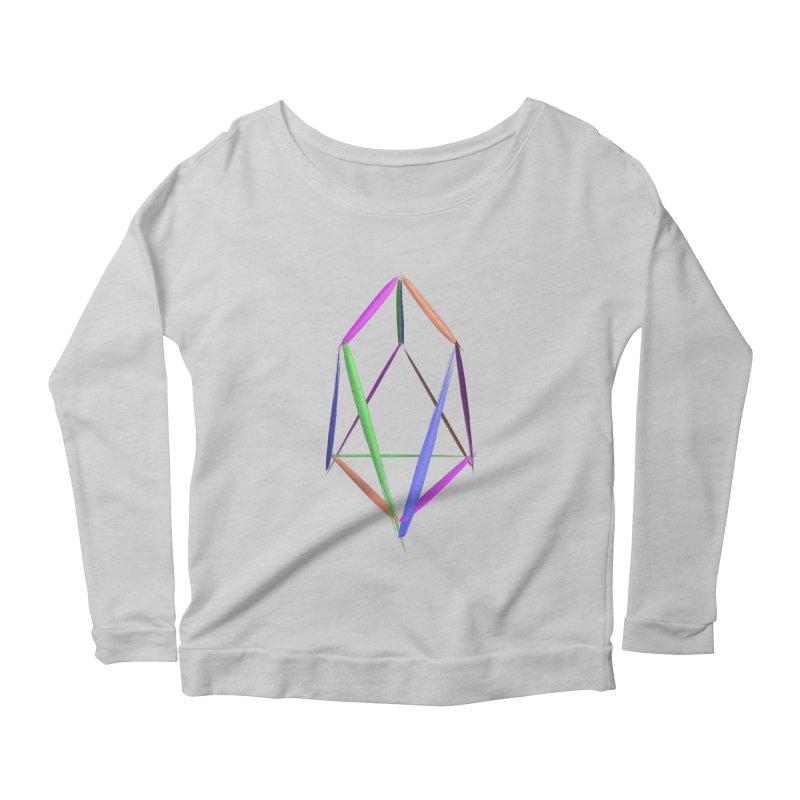 HA - pixEOS Logo2 Women's Scoop Neck Longsleeve T-Shirt by My pixEOS Artist Shop