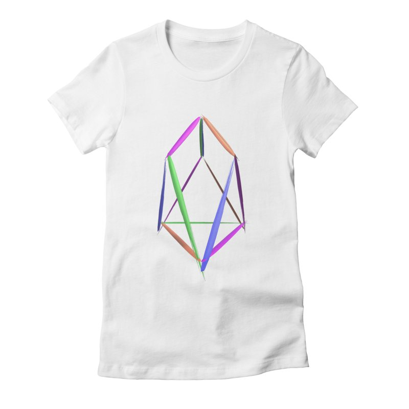 HA - pixEOS Logo2 Women's Fitted T-Shirt by My pixEOS Artist Shop