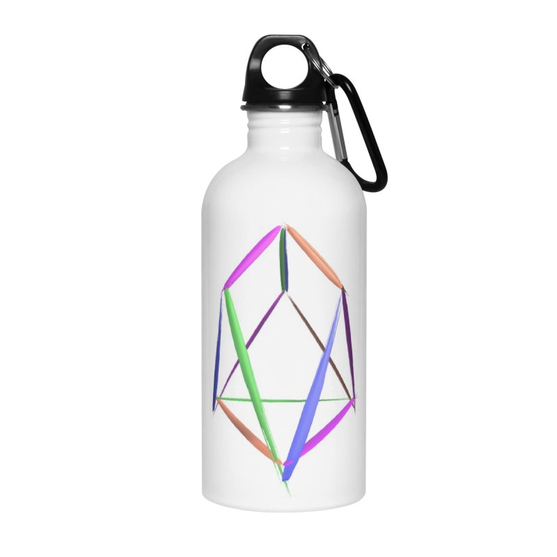 HA - pixEOS Logo2 Accessories Water Bottle by My pixEOS Artist Shop