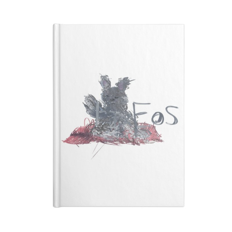 HA - pixEOS Bunny Accessories Lined Journal Notebook by My pixEOS Artist Shop