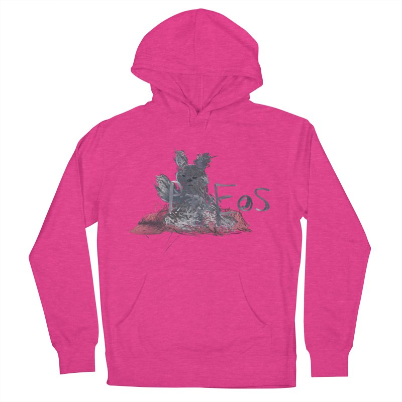 HA - pixEOS Bunny Women's French Terry Pullover Hoody by My pixEOS Artist Shop
