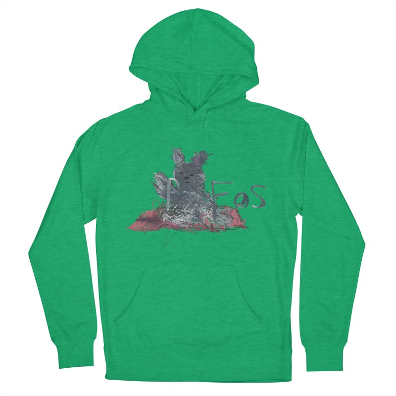 HA - pixEOS Bunny Men's French Terry Pullover Hoody by My pixEOS Artist Shop