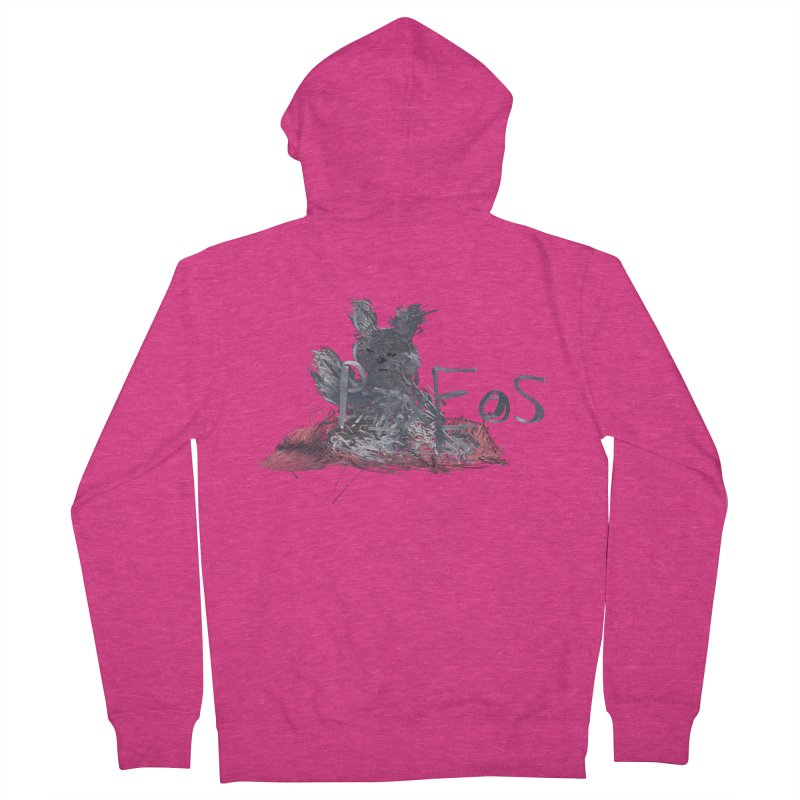 HA - pixEOS Bunny Women's French Terry Zip-Up Hoody by My pixEOS Artist Shop