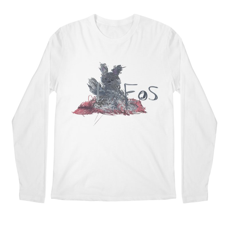 HA - pixEOS Bunny Men's Regular Longsleeve T-Shirt by My pixEOS Artist Shop