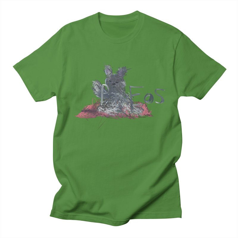 HA - pixEOS Bunny Men's Regular T-Shirt by My pixEOS Artist Shop