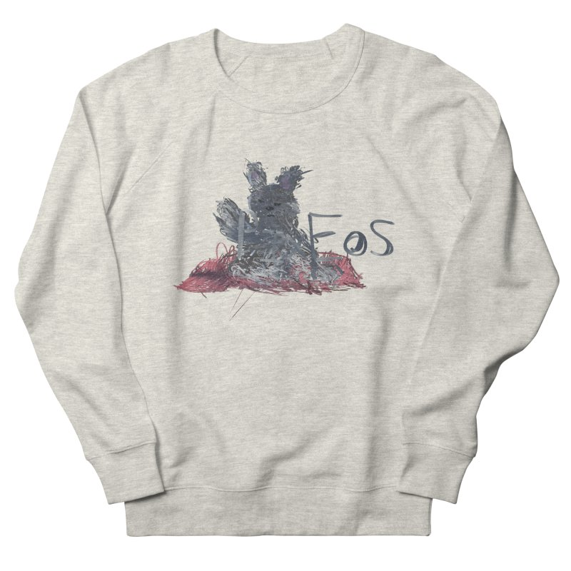 HA - pixEOS Bunny Women's French Terry Sweatshirt by My pixEOS Artist Shop