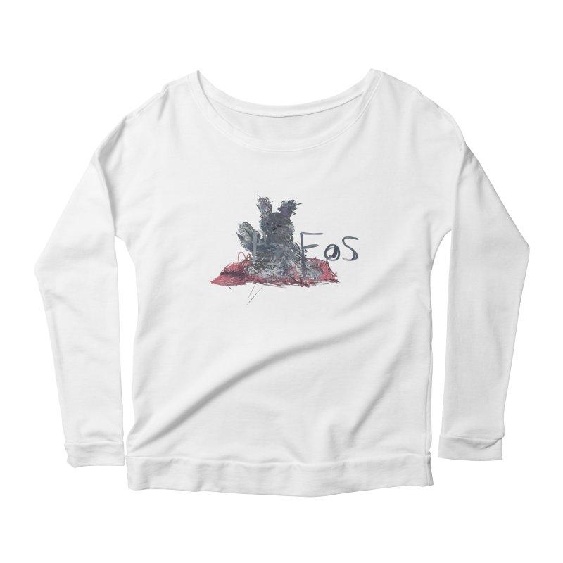 HA - pixEOS Bunny Women's Scoop Neck Longsleeve T-Shirt by My pixEOS Artist Shop