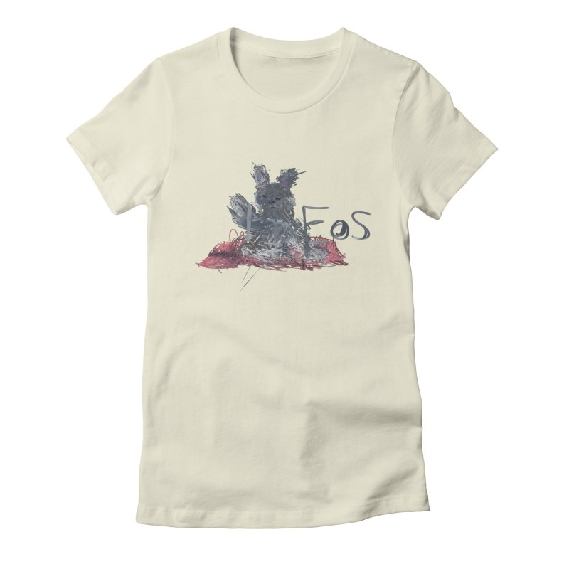 HA - pixEOS Bunny Women's Fitted T-Shirt by My pixEOS Artist Shop