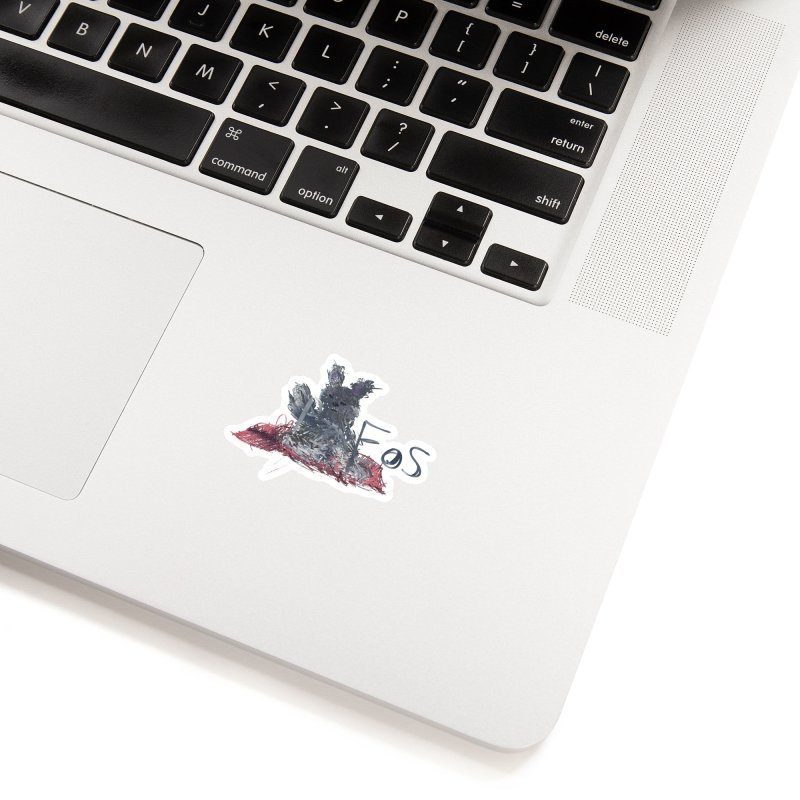 HA - pixEOS Bunny Accessories Sticker by My pixEOS Artist Shop