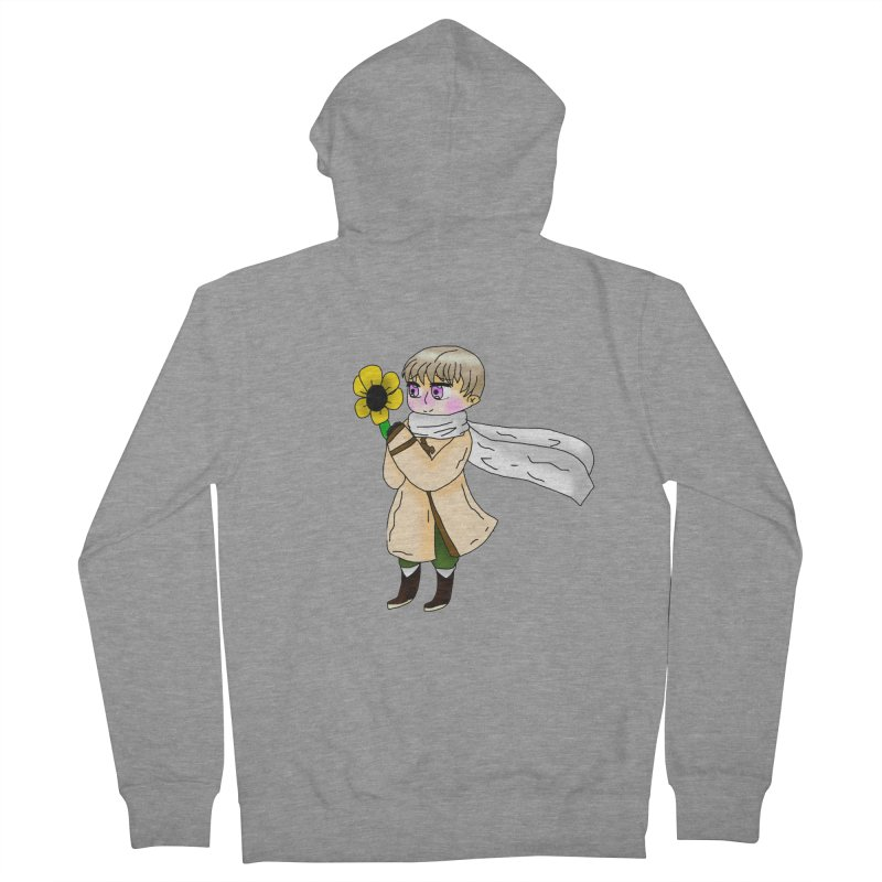 HA - Russia! Men's French Terry Zip-Up Hoody by My pixEOS Artist Shop