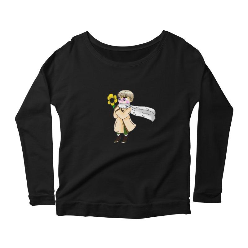 HA - Russia! Women's Scoop Neck Longsleeve T-Shirt by My pixEOS Artist Shop