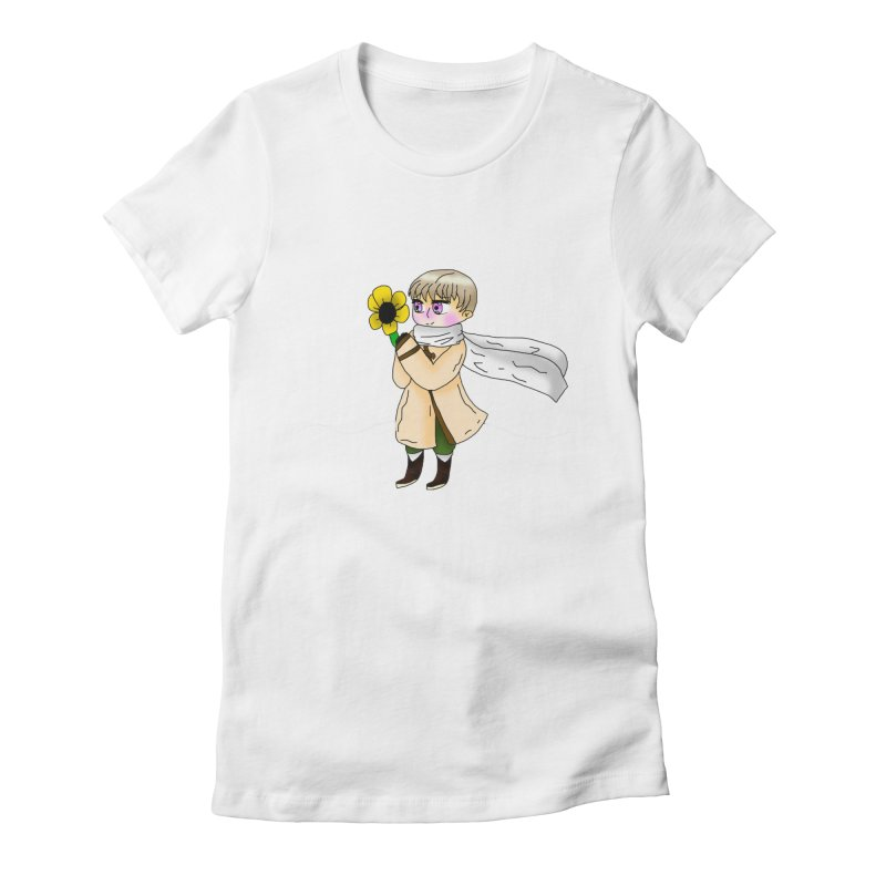 HA - Russia! Women's Fitted T-Shirt by My pixEOS Artist Shop