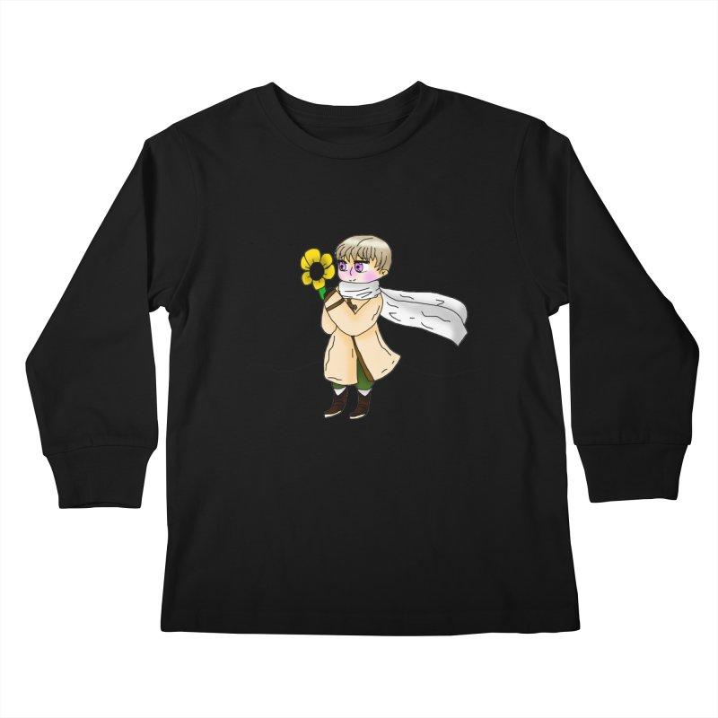 HA - Russia! Kids Longsleeve T-Shirt by My pixEOS Artist Shop