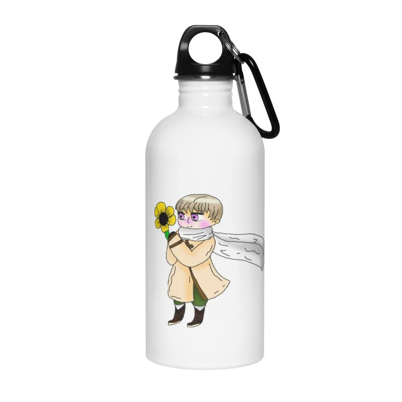 HA - Russia! Accessories Water Bottle by My pixEOS Artist Shop