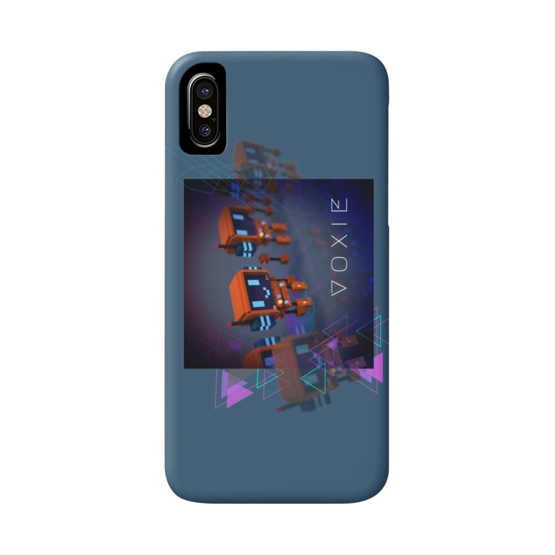 FY - Cyberpunk Voxie Accessories Phone Case by My pixEOS Artist Shop