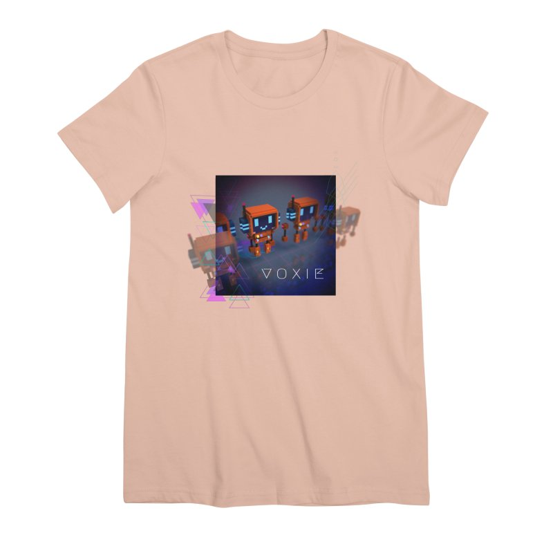 FY - Cyberpunk Voxie Women's Premium T-Shirt by My pixEOS Artist Shop