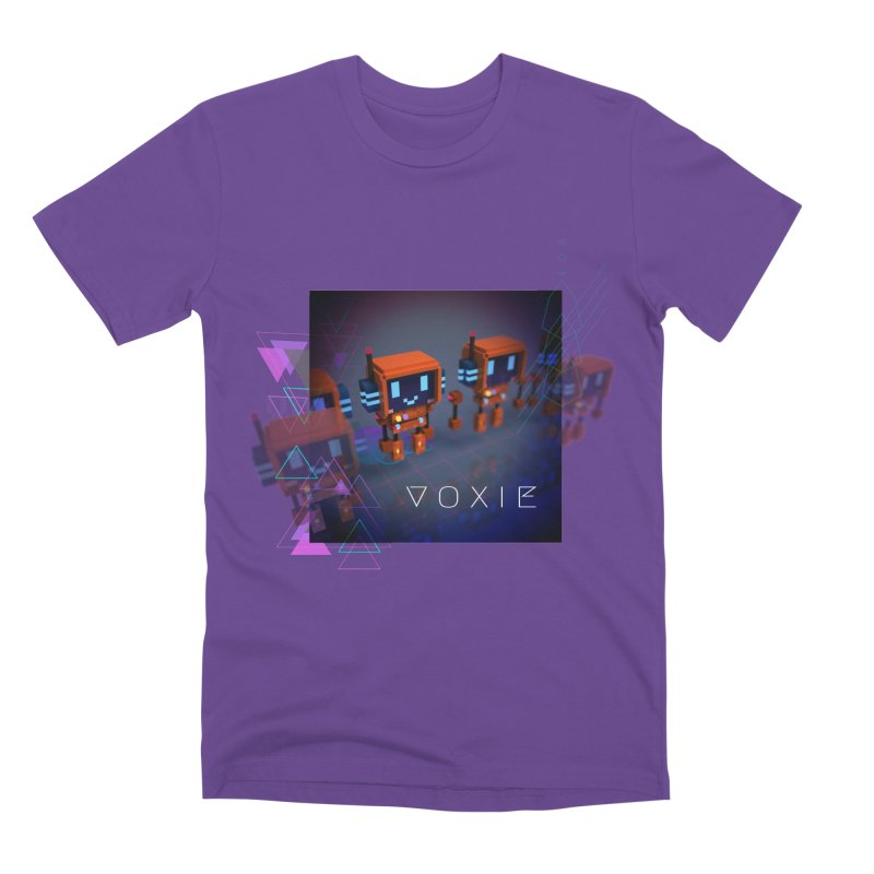 FY - Cyberpunk Voxie Men's Premium T-Shirt by My pixEOS Artist Shop