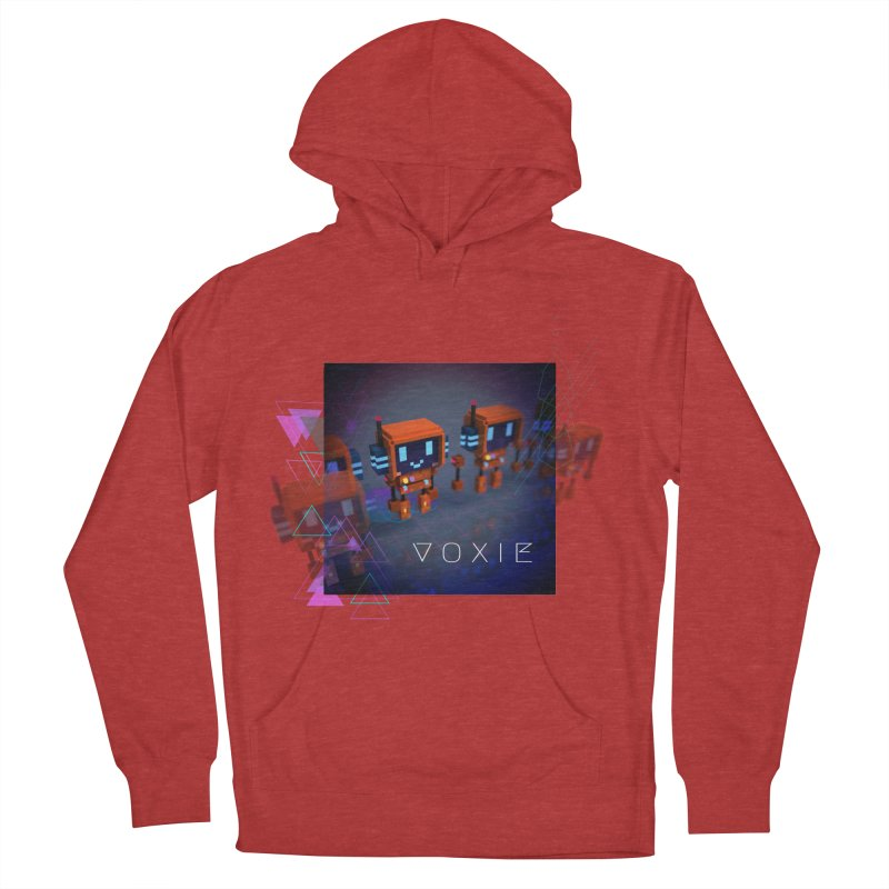 FY - Cyberpunk Voxie Women's French Terry Pullover Hoody by My pixEOS Artist Shop