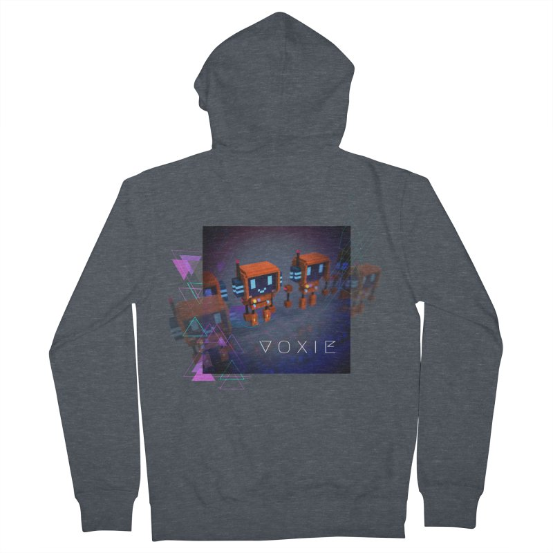 FY - Cyberpunk Voxie Women's French Terry Zip-Up Hoody by My pixEOS Artist Shop