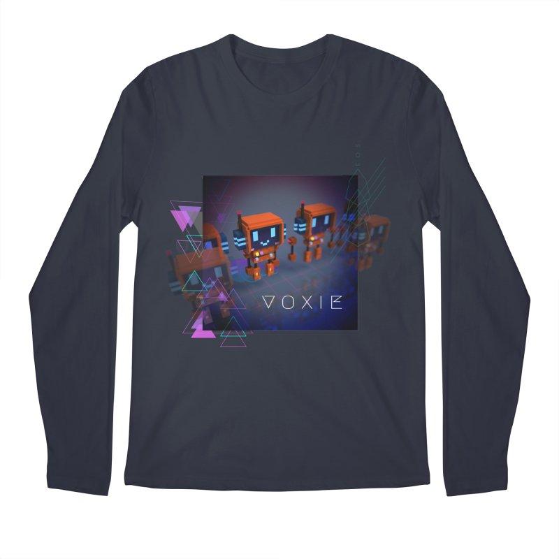 FY - Cyberpunk Voxie Men's Regular Longsleeve T-Shirt by My pixEOS Artist Shop