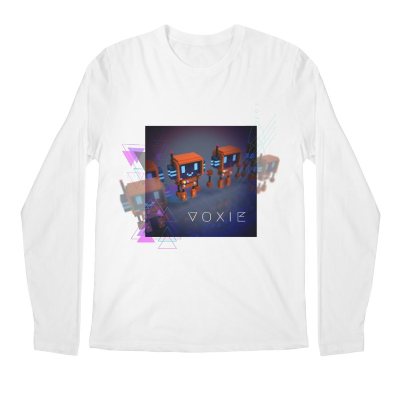 FY - Cyberpunk Voxie Men's Regular Longsleeve T-Shirt by My pixEOS Artist Shop