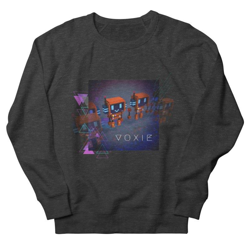 FY - Cyberpunk Voxie Men's French Terry Sweatshirt by My pixEOS Artist Shop