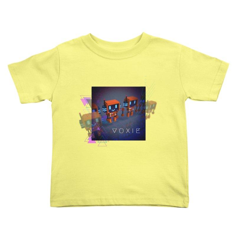 FY - Cyberpunk Voxie Kids Toddler T-Shirt by My pixEOS Artist Shop
