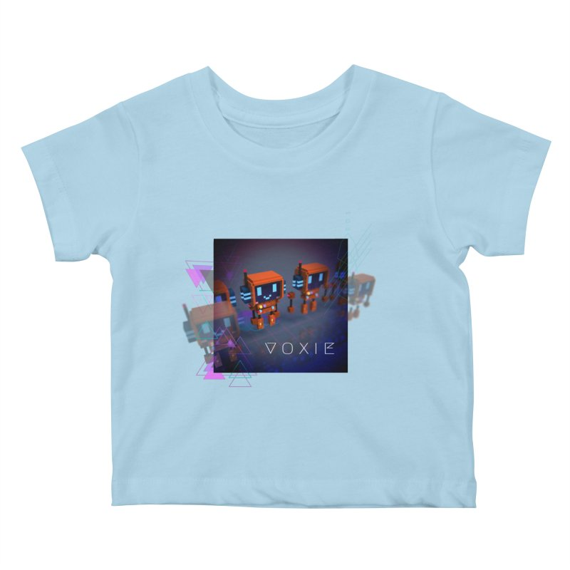 FY - Cyberpunk Voxie Kids Baby T-Shirt by My pixEOS Artist Shop