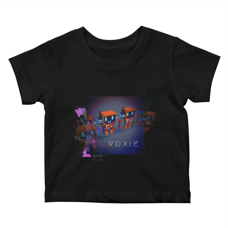 FY - Cyberpunk Voxie Kids Baby T-Shirt by My pixEOS Artist Shop