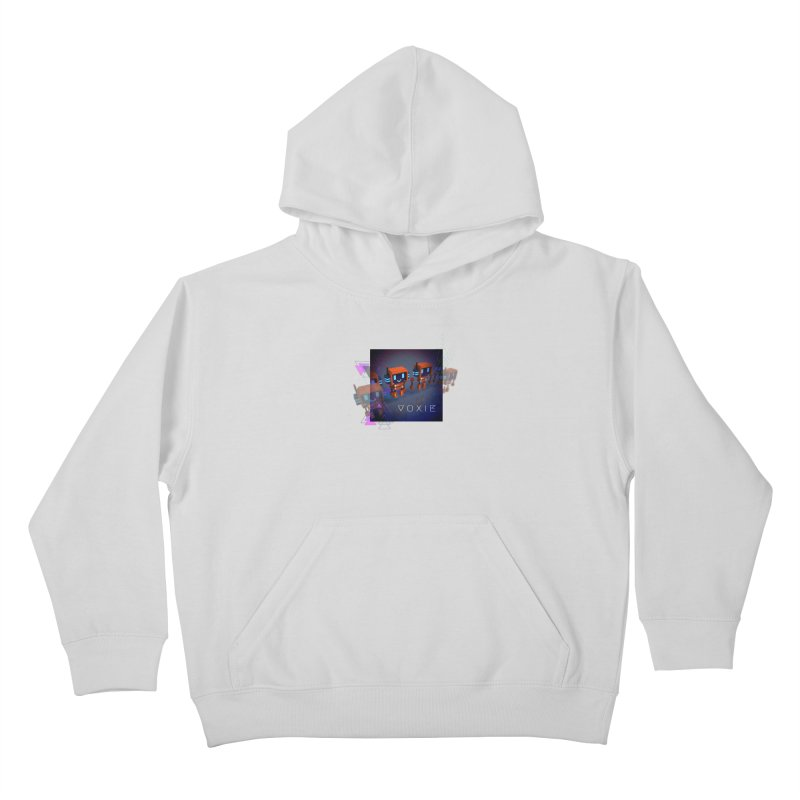 FY - Cyberpunk Voxie Kids Pullover Hoody by My pixEOS Artist Shop