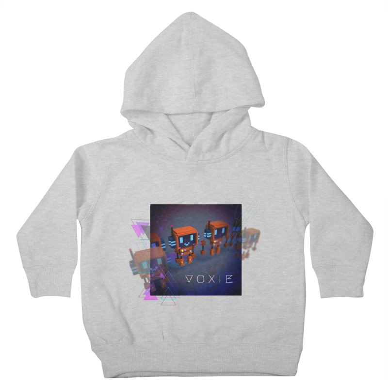 FY - Cyberpunk Voxie Kids Toddler Pullover Hoody by My pixEOS Artist Shop