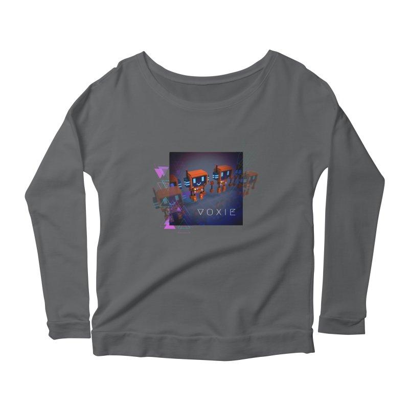 FY - Cyberpunk Voxie Women's Scoop Neck Longsleeve T-Shirt by My pixEOS Artist Shop