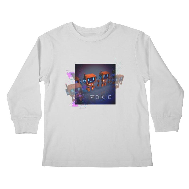 FY - Cyberpunk Voxie Kids Longsleeve T-Shirt by My pixEOS Artist Shop