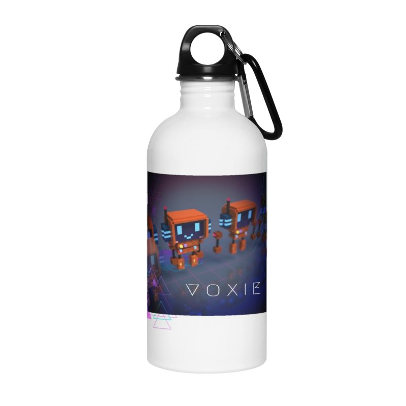 FY - Cyberpunk Voxie Accessories Water Bottle by My pixEOS Artist Shop