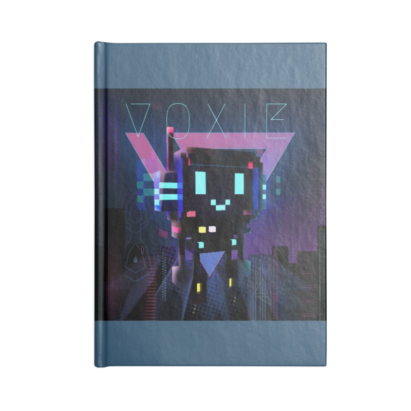 FY - Voxie Cyberpunk 2 Accessories Blank Journal Notebook by My pixEOS Artist Shop