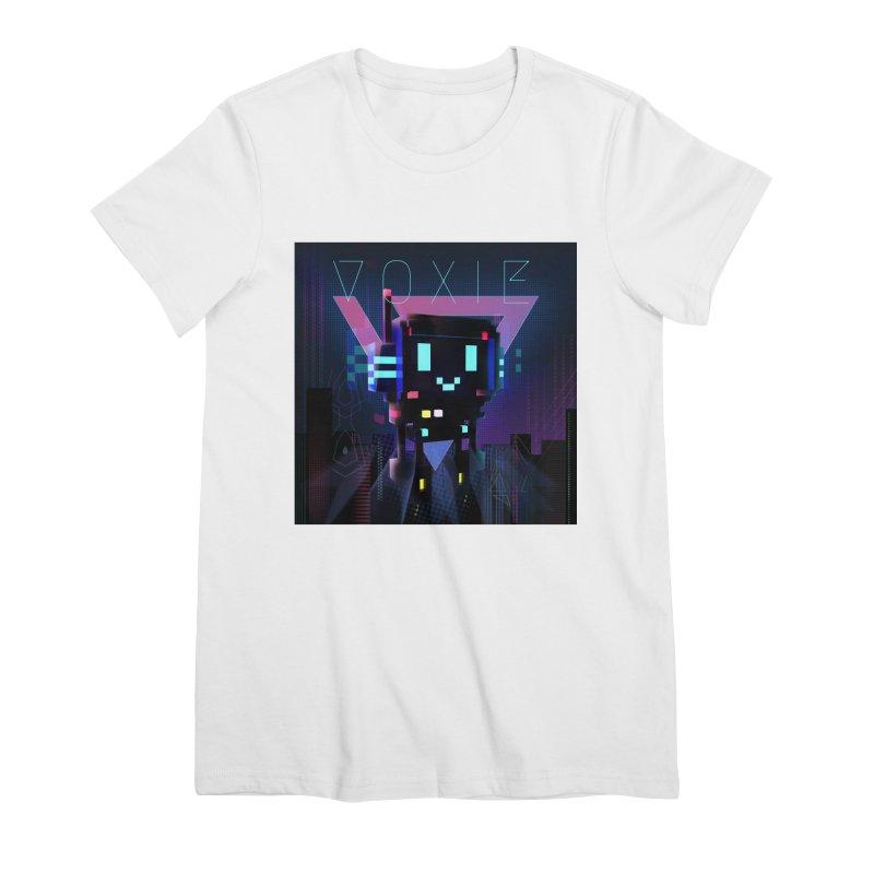 FY - Voxie Cyberpunk 2 Women's Premium T-Shirt by My pixEOS Artist Shop