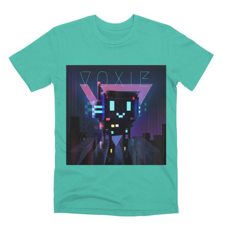 FY - Voxie Cyberpunk 2 Men's Premium T-Shirt by My pixEOS Artist Shop