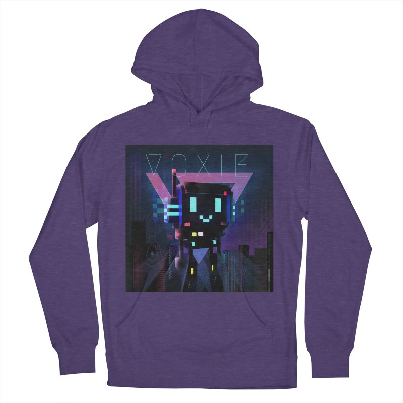 FY - Voxie Cyberpunk 2 Women's French Terry Pullover Hoody by My pixEOS Artist Shop