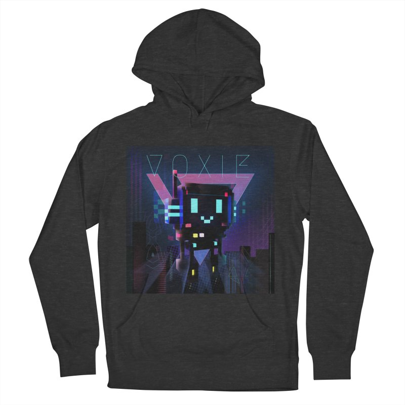 FY - Voxie Cyberpunk 2 Men's French Terry Pullover Hoody by My pixEOS Artist Shop