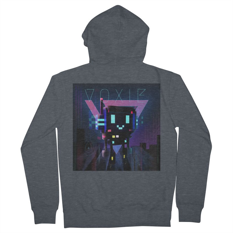 FY - Voxie Cyberpunk 2 Women's French Terry Zip-Up Hoody by My pixEOS Artist Shop